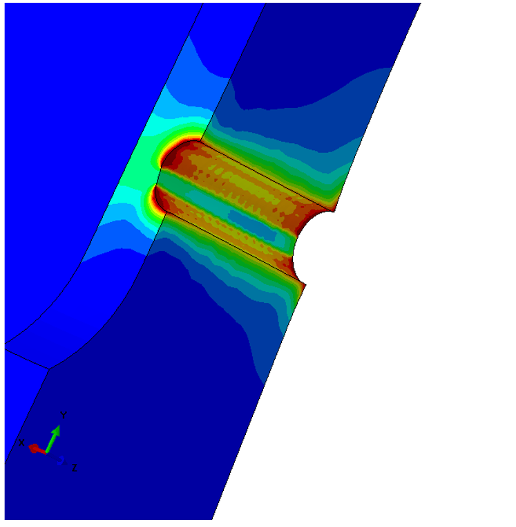 Split Sleeve finite element analysis