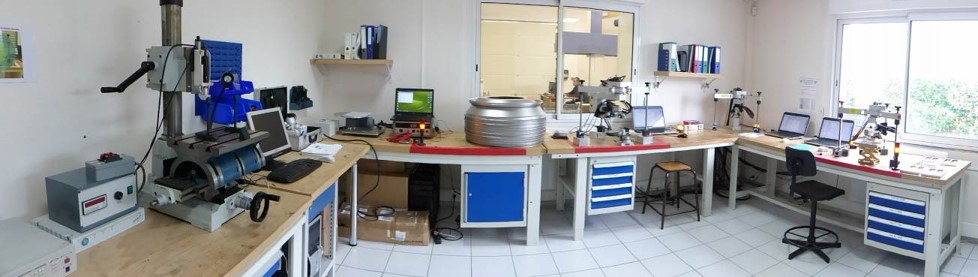 Residual stresses measurement laboratory